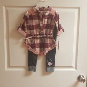 3T girls toddler outfit